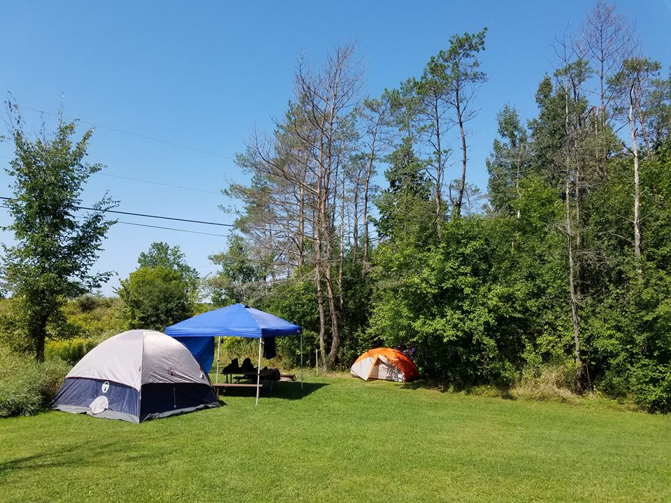 Tent site savings vermont